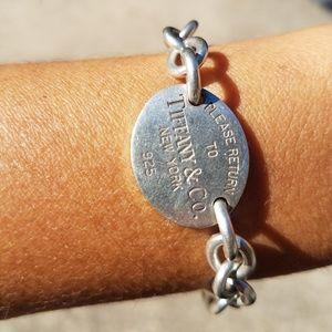925 silver tiffany bracelet